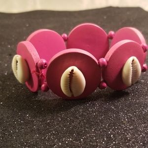 Jewelry - Women  bohemian style wood bracelet